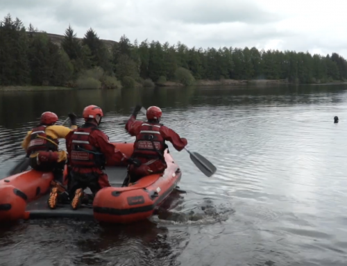 North Yorkshire fire service launch water safety video for Drowning Prevention Week