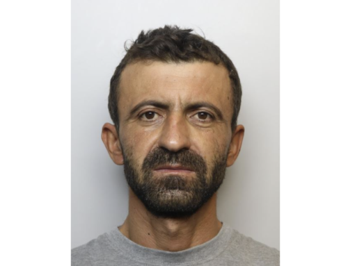Have you seen this wanted man in Harrogate?